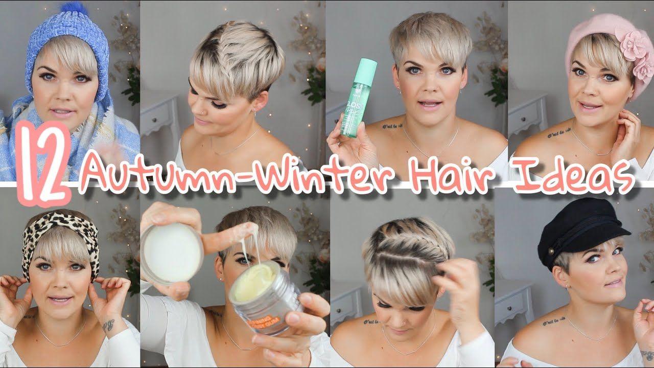 12 Herbst Winter Ideen Fur Kurze Haare Alltagsfrisuren Salirasa Youtube Kurze Haare Stylen Haarband Kurze Haare Haarband Kurze Haare