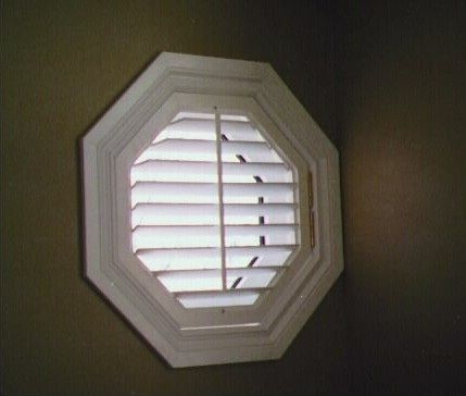 Octagonal Blind Cottage Style Octagon Window Home