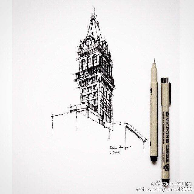 Big Ben London Fineliner