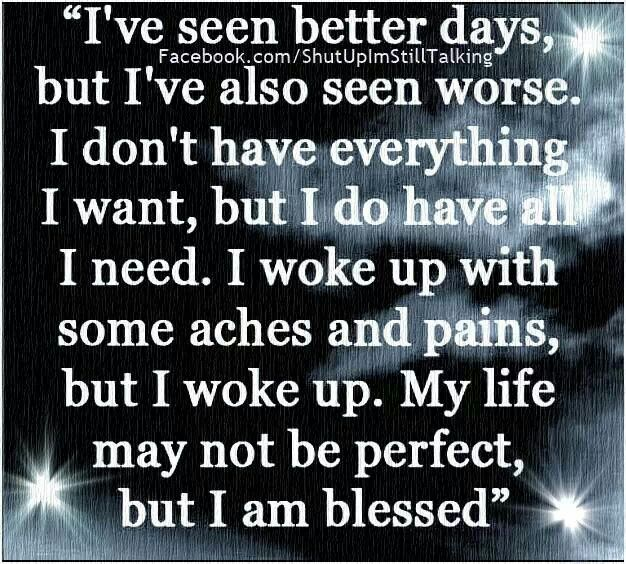 i am blessed quotes - photo #9