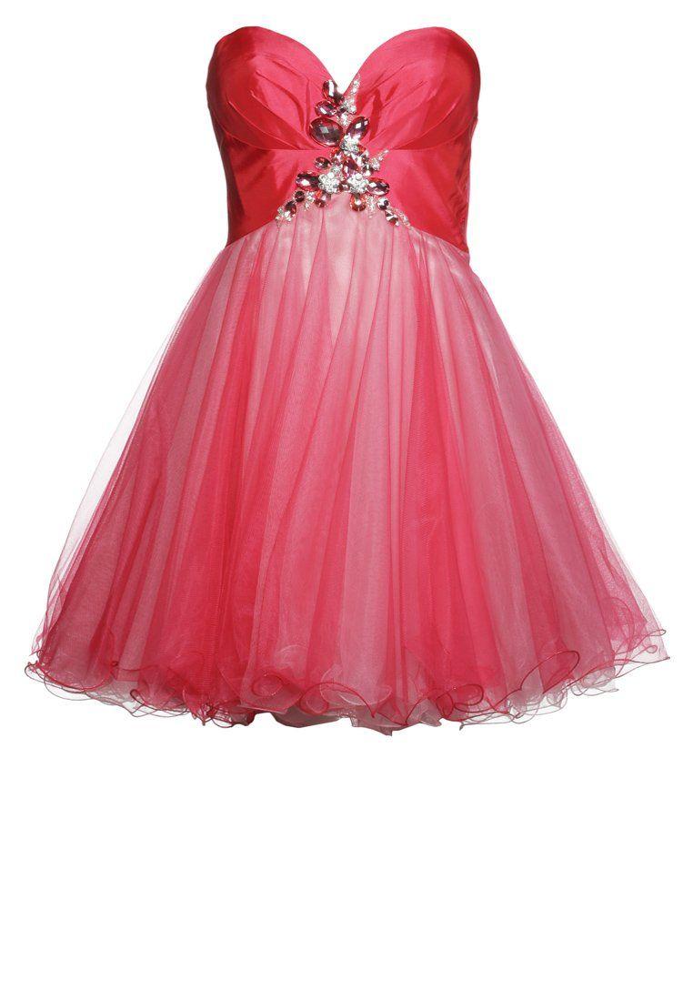 Luxuar fashion sukienka koktajlowa melone sukienki pinterest