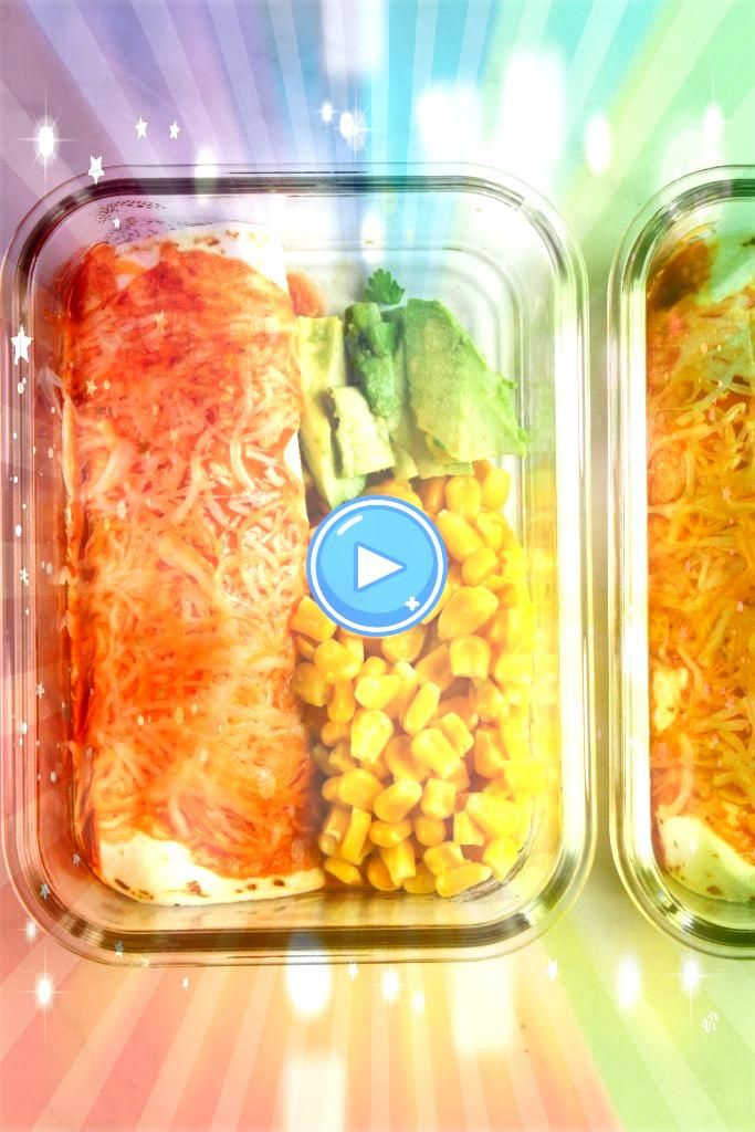 Prep Enchiladas Meal Prep Enchiladas is your lazy solution to eating a delicious and veggie packed lunch without having to put too much effort into your meal prep MealPre...