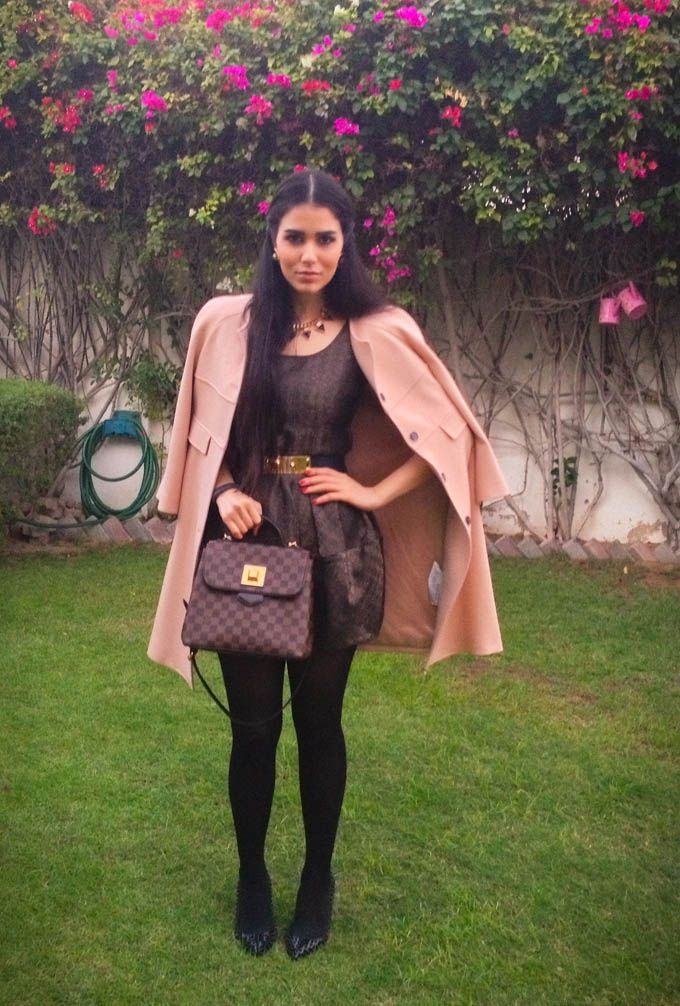 #Todayimwearing featuring Dana Wolley goes Sophisticated #Fashion #Style #Vintage #Fustany