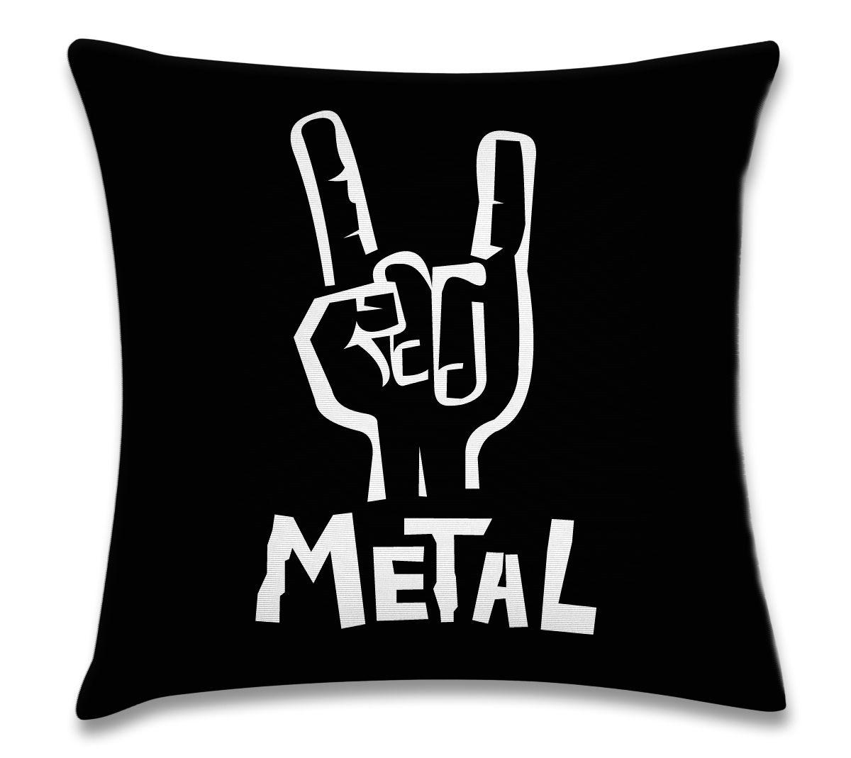 5a3cf73ee Capa de almofada Metallica in 2019