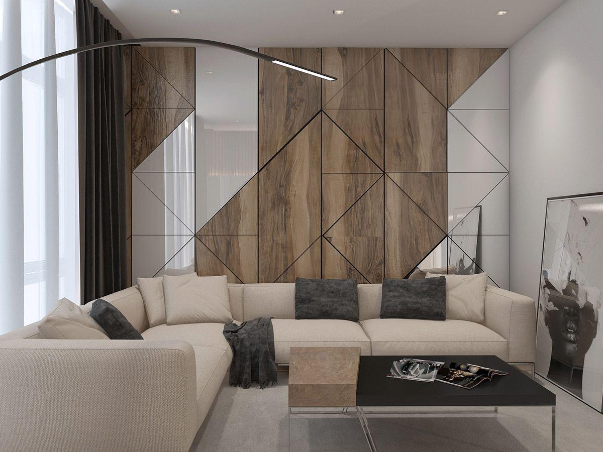 Apartament In Modern Style On Behance Bedroom Interior