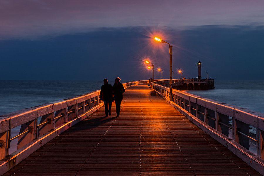 Walks on the pier
