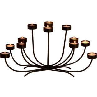 Buy Living Black Tea Light Candle Holder at Argos.co.uk - Your Online Shop for Candles and candle holders.