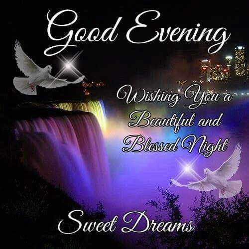 Good Evening Friends And Family Have A Peaceful Night Abdul