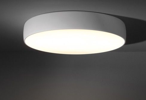 Modular flat moon ceiling lamp