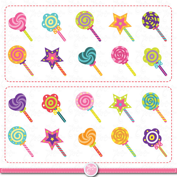 candy clip art candy set candy design element colorful candy