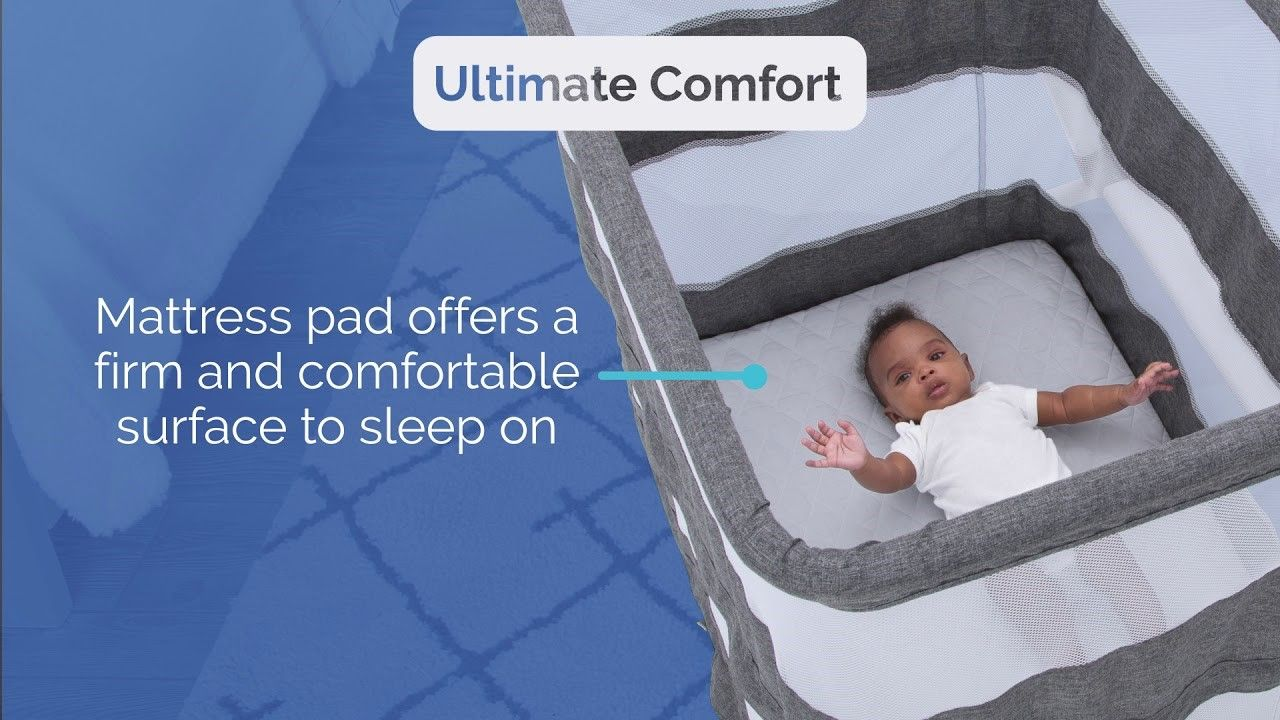 Halo Waterproof Pad Mattress Protector For Bassinest Baby Bedtime Bassinet