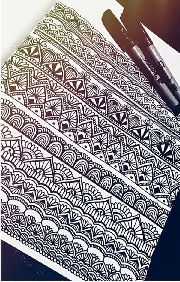 40 Simple Mandala Art Pattern And Designs