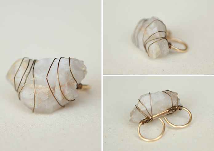 wire jewelry   jewelry making   Pinterest