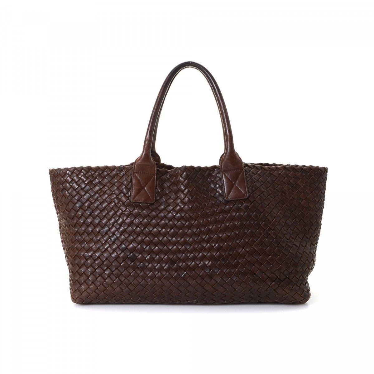 7ca00c5e00b LXRandCo guarantees this is an authentic vintage Bottega Veneta Cabat tote.  This classic work bag