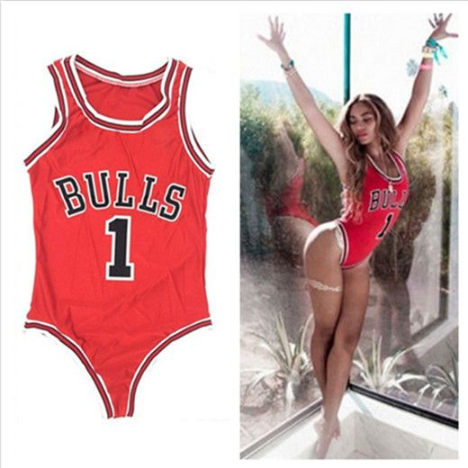 d6c394454c712 Celebrity Swimwear, Bulls Swimwear, Bull Swimwear, NBA Basketball Swimwear,  Women Jumpsuit, Bulls Jumpsuit, Plus Size Jumpsuit