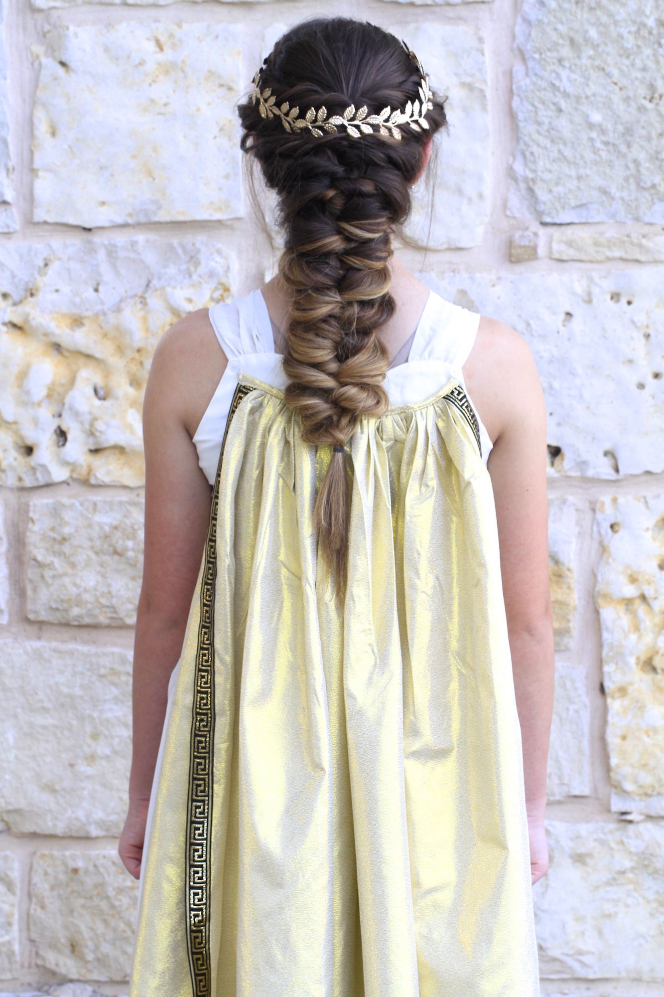 Greek Goddess Hair | Long Hairstyles |Halloween Hairstyles | Hair ...