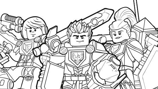 NEXO KNIGHTS Heroes Formation 02 | party | Pinterest | Knight