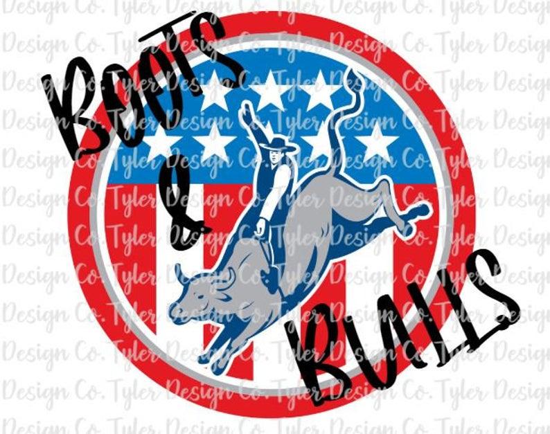 Boots Bulls Sublimation Livestock Bucking Bull Rodeo Etsy Bucking Bulls Tshirt Printing Design Stock Photos Funny