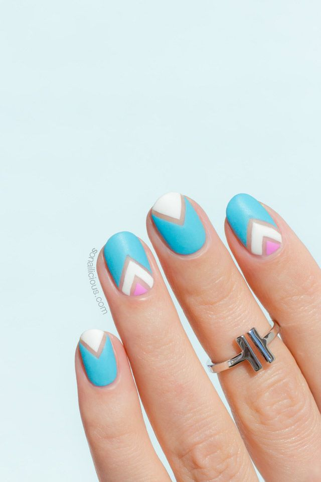 Pastel Negative Space Nail Art - Tutorial | It\'s All About Nails ...