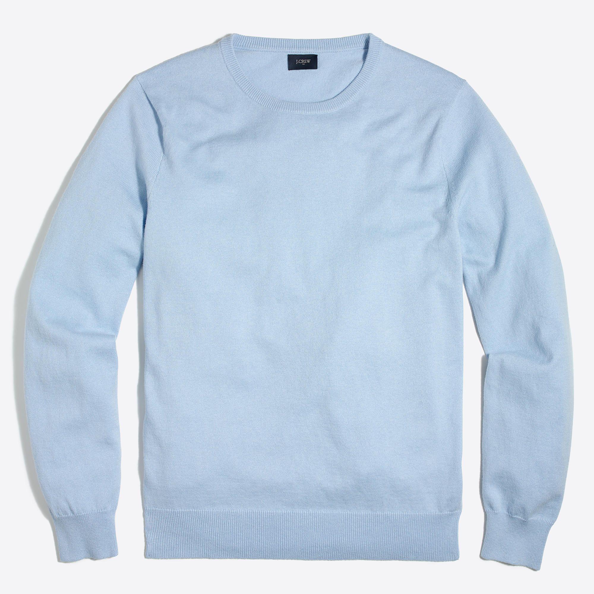 J.Crew Factory Hthr Sky | Crewneck sweaters
