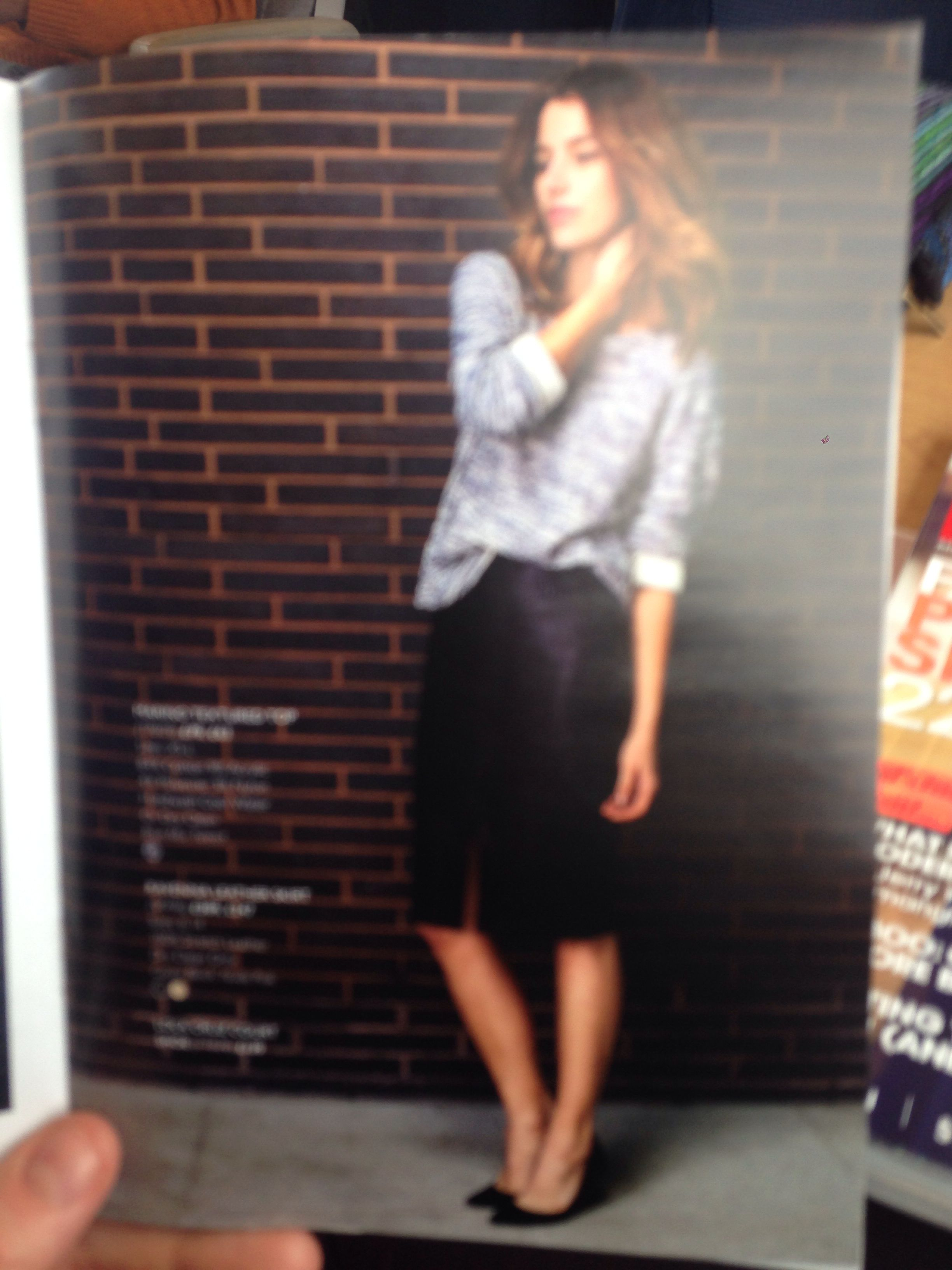 Leather skirt jumper