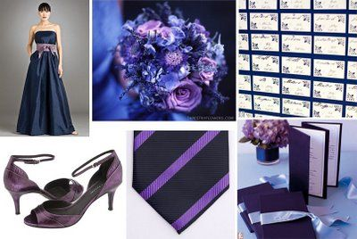 Navy And Lilac Color Scheme If I Decided To Go With This Would Have