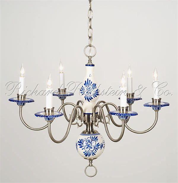 Beautiful Delft Chandelier I Just Found One Of These At A
