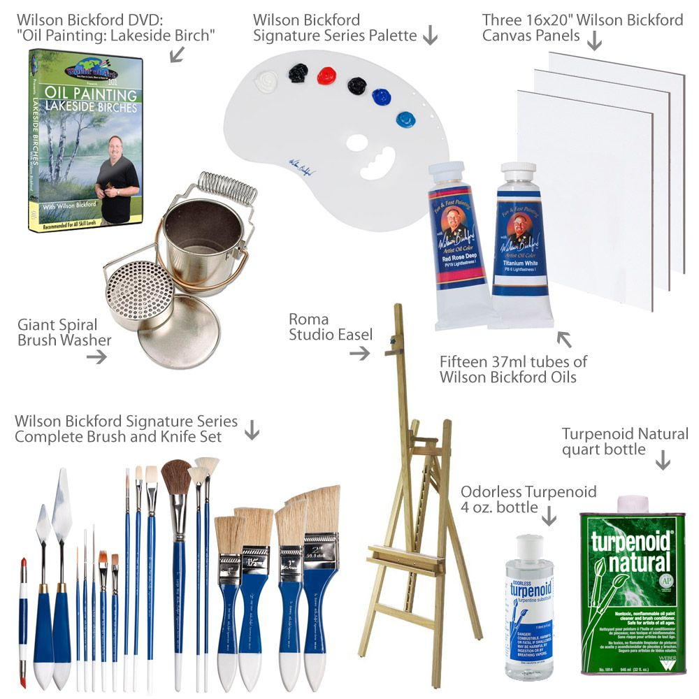 oil painting sets for beginners starter oil paint kits