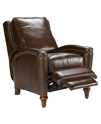 Awesome Rutherford Leather Recliner Chair Furniture Macys Our Inzonedesignstudio Interior Chair Design Inzonedesignstudiocom