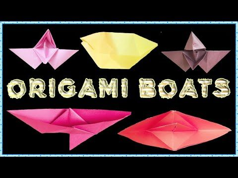 Photo of Five Fantastic Origami Boats (DIY) Easy Step by Step (Boat with Wings and Roof)