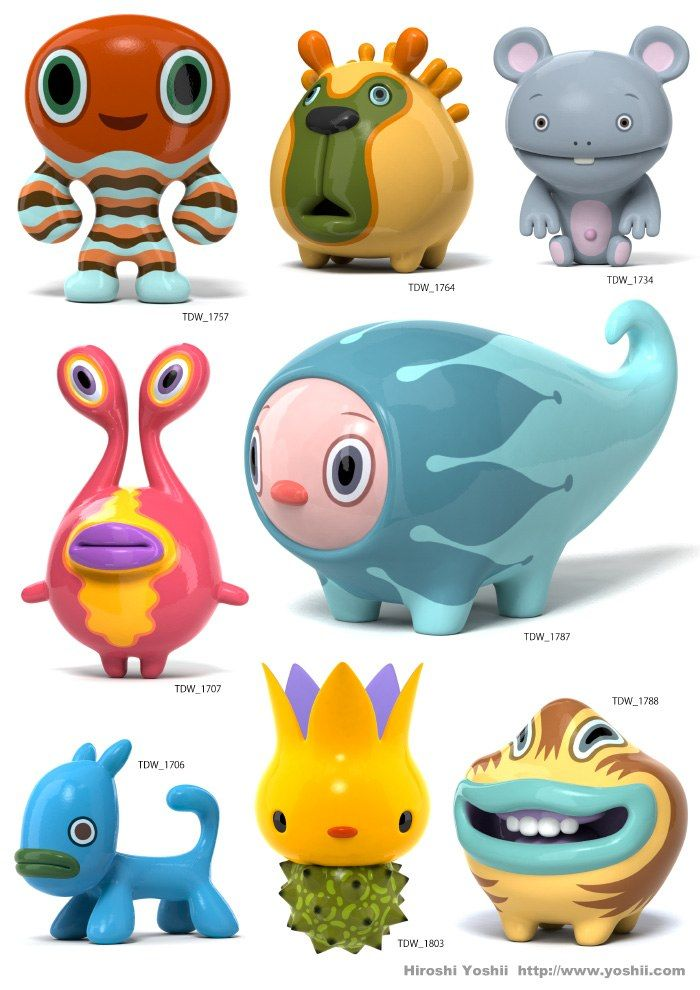 3d Character Design Ideas : Hiroshi yoshii вери pinterest characters toy and