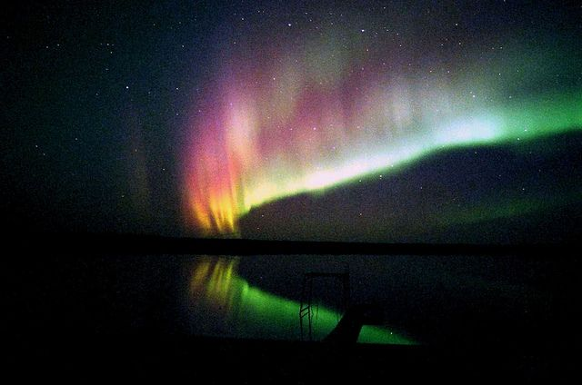 Aurora borealis- northern Sask
