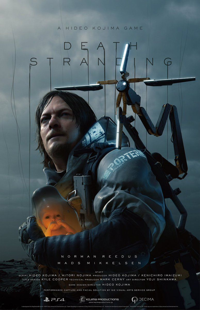 31c51490524efc5ab9a40d9e82053361 watch the new trailer for hideo kojima's death stranding live for