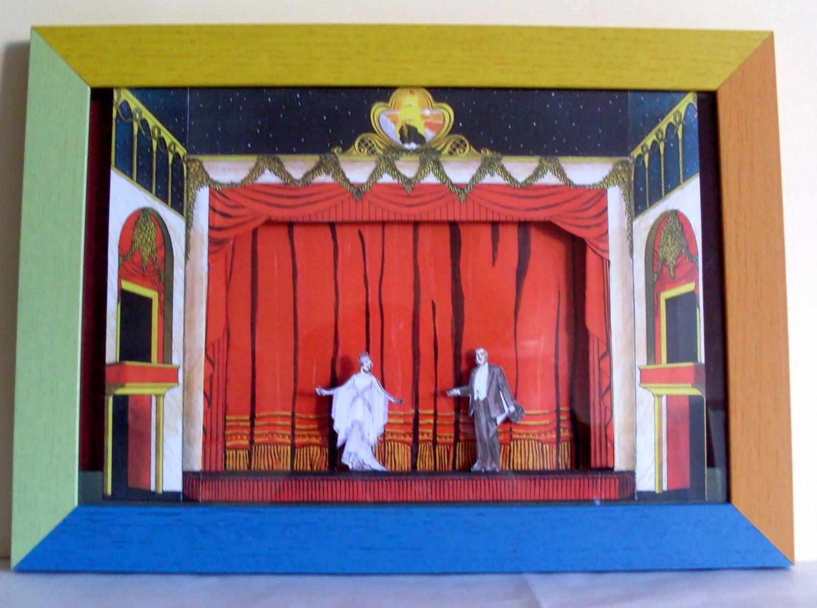 maqueta teatro carton - Buscar con Google
