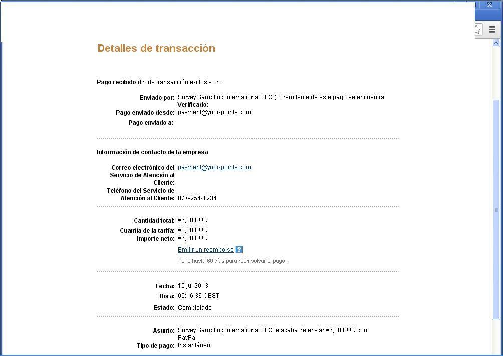 1º Pago Centro De Opinion Servicio De Atencion Al Cliente