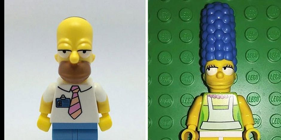 LEGO The Simpsons images leaked on eBay