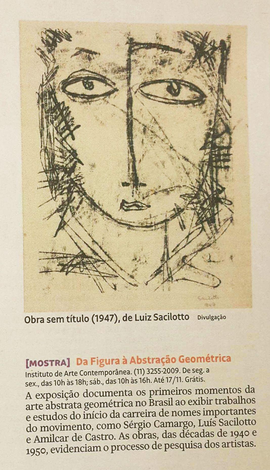 A Exposicao Do Iacbrasil Da Figura A Abstracao Geometrica Foi