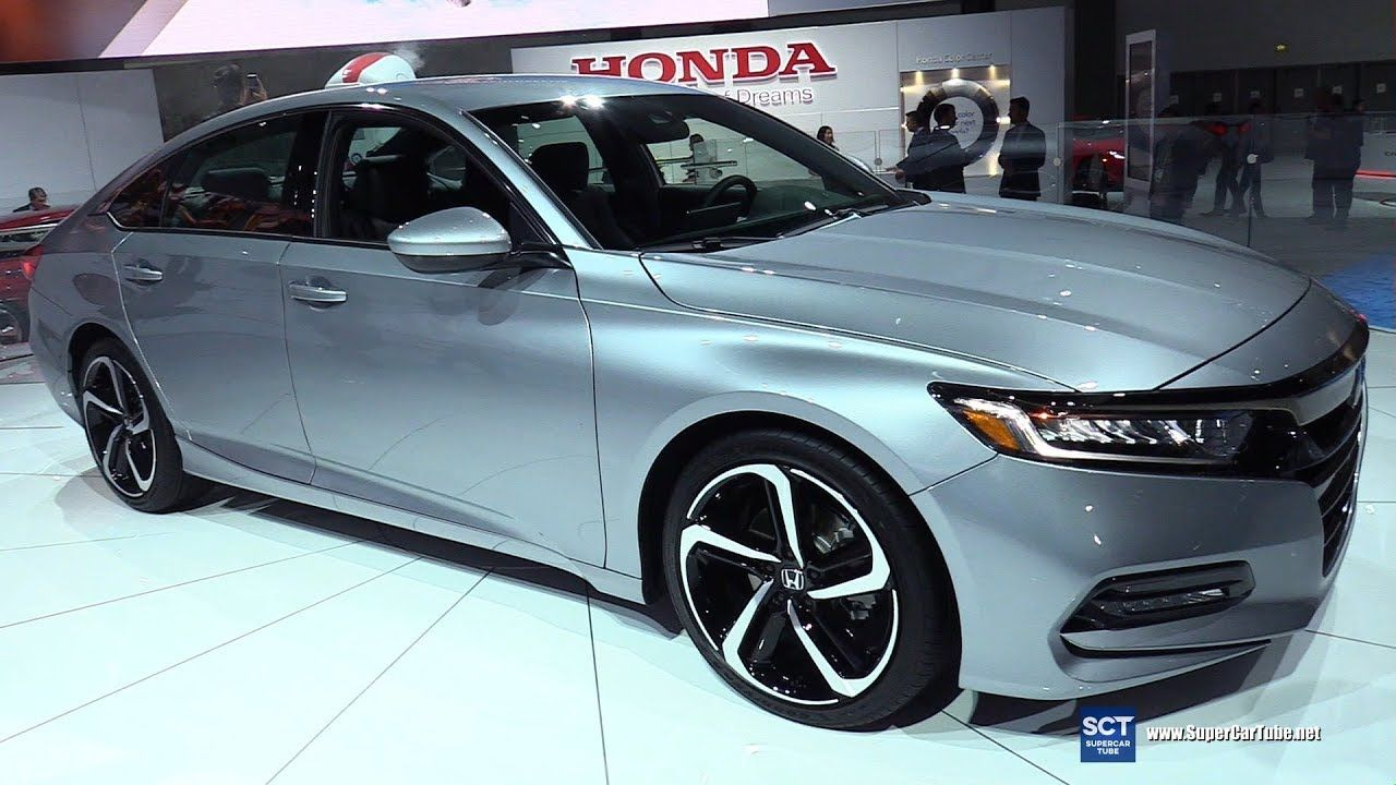 2018 Honda Accord Sport Exterior and Interior Walkaround