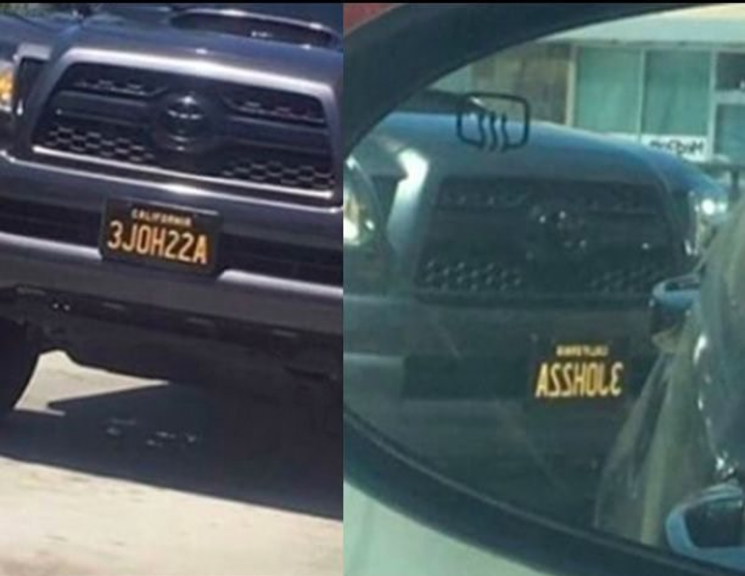 The Best License Plate Ever Funny Pictures