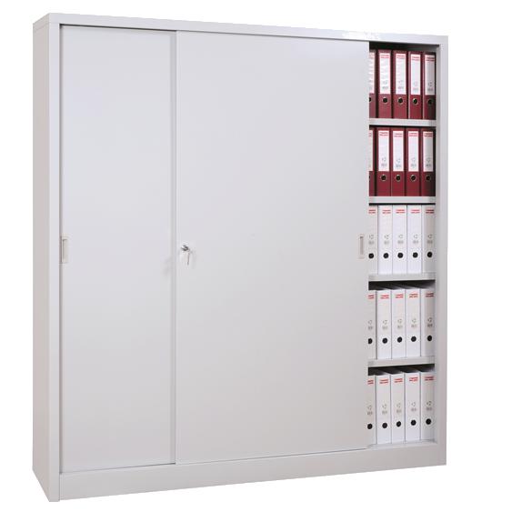 Armoires De Bureau Armoire Haute Mtallique Portes Coulissantes Armoires De Bureau Tall Cabinet Storage Locker Storage Storage Cabinet