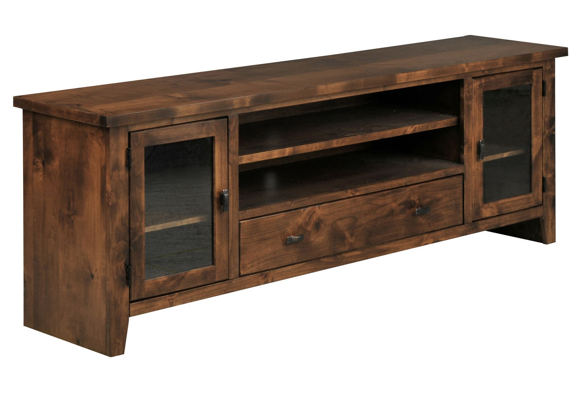 Trent 76 Inch Tv Stand Apartment Console Home Living Room