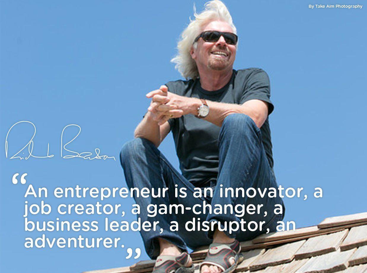 game changer quote by richard branson entrepreneur