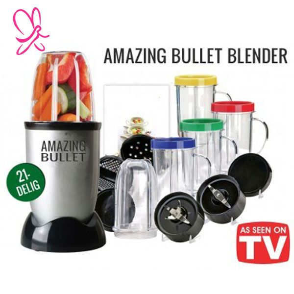 Magic bullet Amazing Bullet Blender Dengan 21 Fungsi Dalam 1 Blender