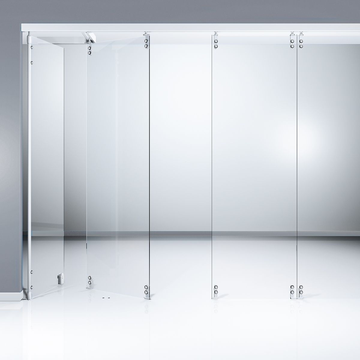 This is an image of the dorma sliding wall hsw gp doors for Sliding glass walls