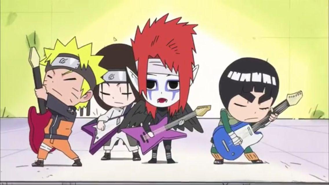rock lee and his ninja pals tenten
