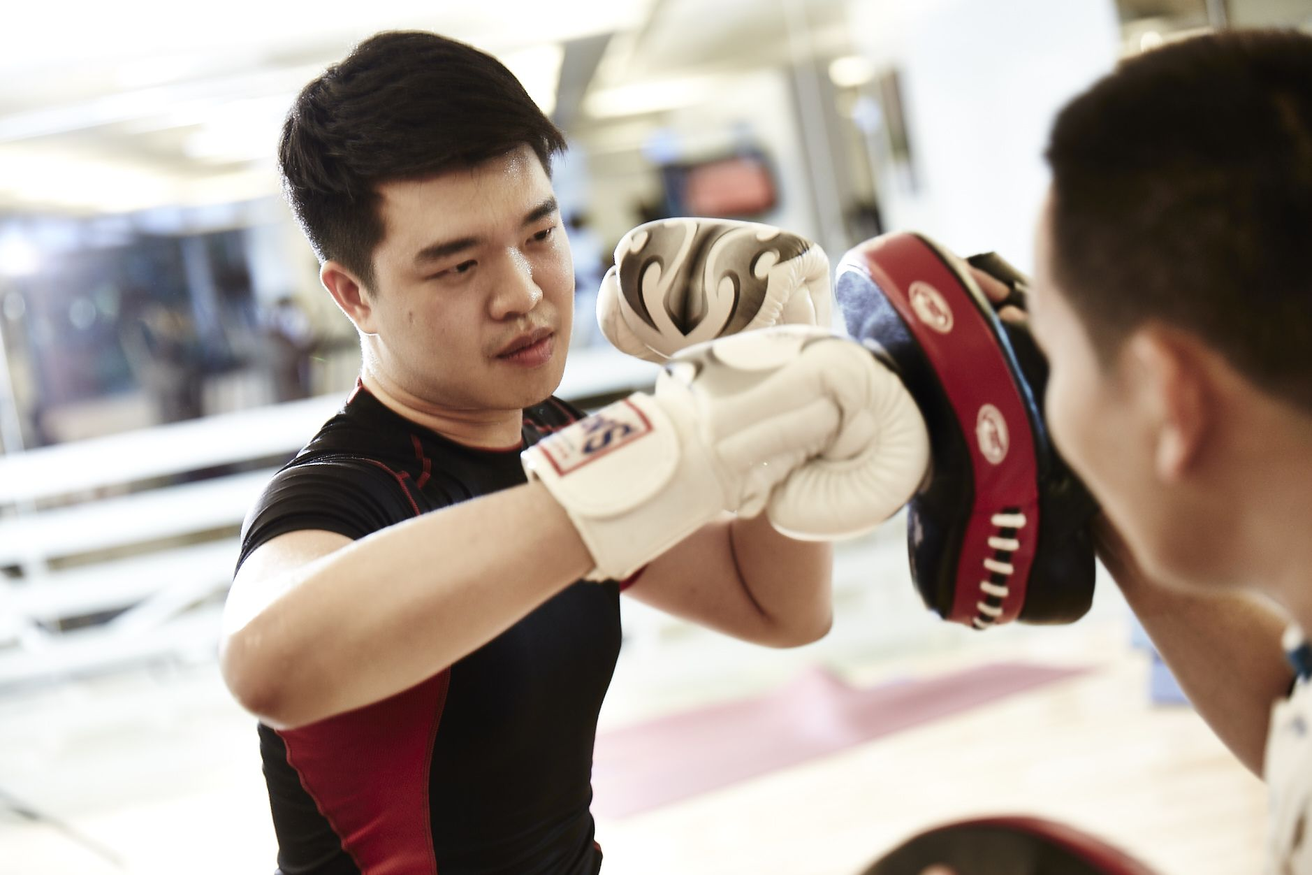 Take a boxing class and see how you can burn more than 500 calories with fun.