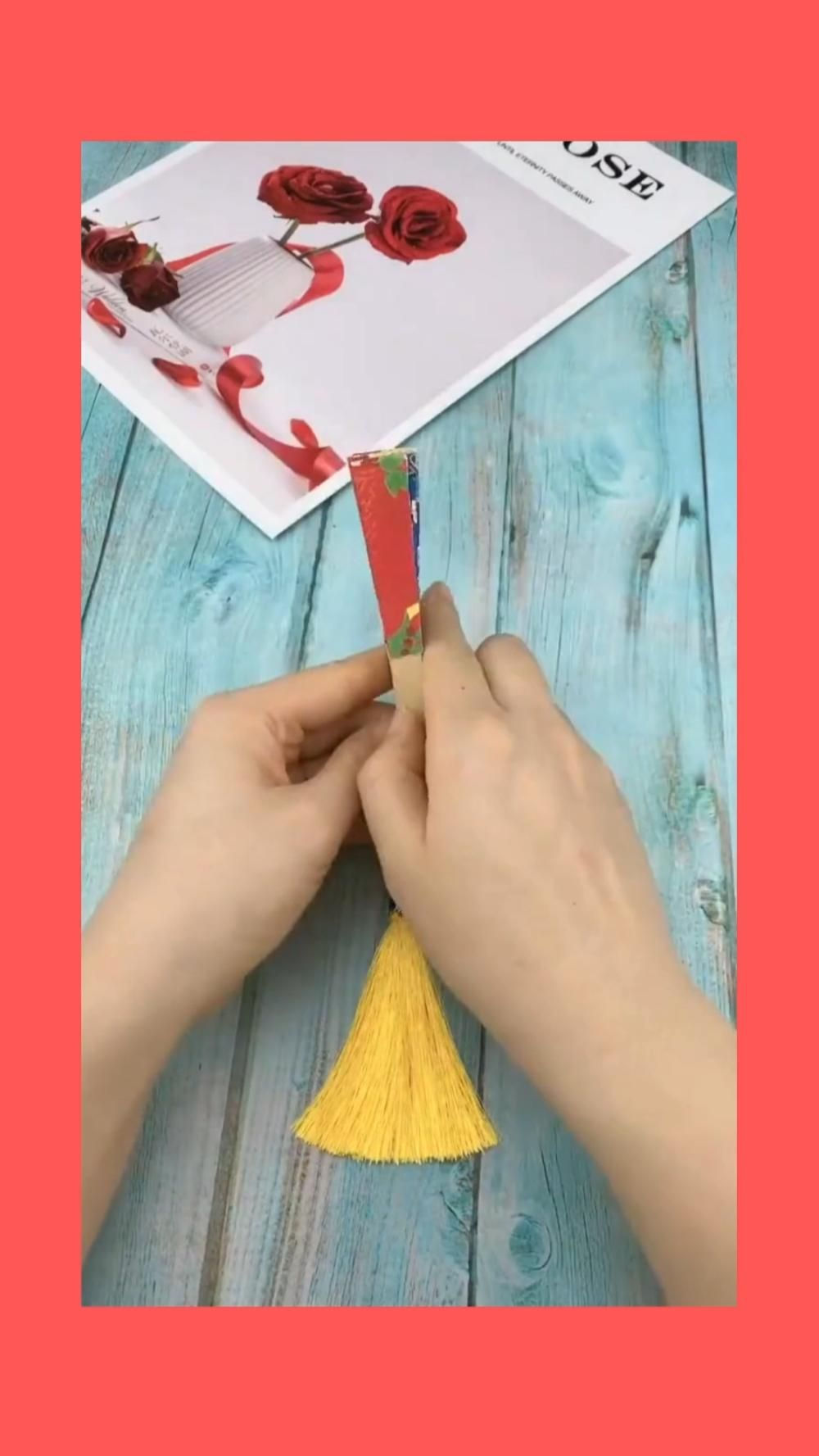 DIY Hand fan Origami