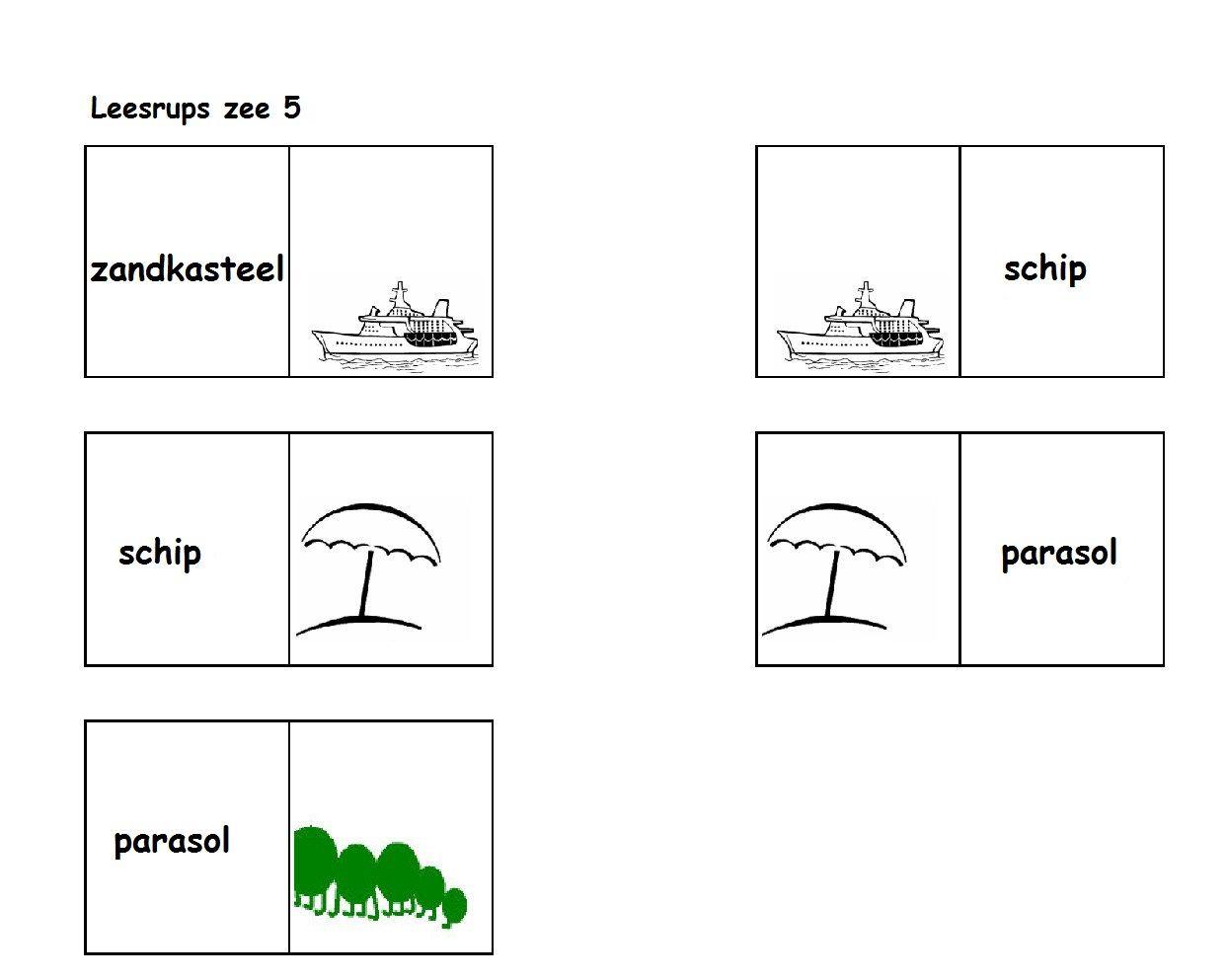 Leesrups: Zee! 5-5 | Leesrupsen | Pinterest | Stenciling and School