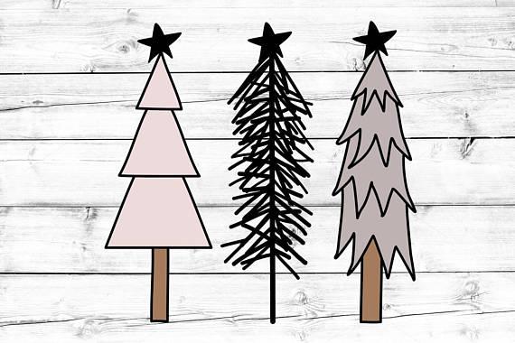 Rustic Trees Svg Christmas Svg Tree Svg Rustic Christmas Etsy Tree Svg Christmas Svg Christmas Tree Art