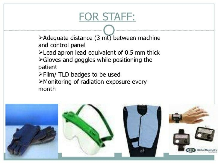 Radiation Protection For Staff   Note Lead Apron  Mm Thick